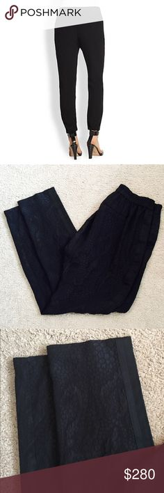 ❗️Rebecca Taylor Silk Black Tuxedo Pant MSRP $550! ❗️Rebecca Taylor 100% Silk Black Floral Print Tuxedo Pants. Retails $550. Size 6 in excellent condition. Feel free to make an offer! I'm giving to the first reasonable offer I receive & give great bundle deals! Spring cleanout sale--all must go! ;-) Rebecca Taylor Pants