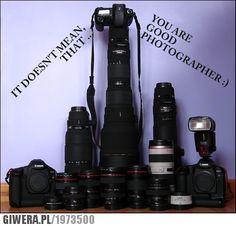 aparat, sprzęt, fotograf