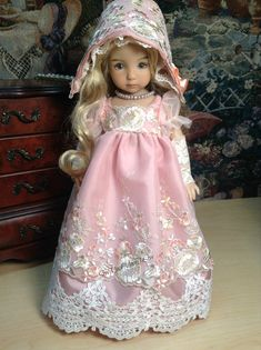 Dianna Effner Little Darling Doll Regency by SewMuchMoreToSew