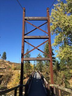 Bridge in Winthrop, Washington by SummerRamblr. Photo & trip on Ramblr @ http://rblr.co/EQsd.
