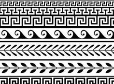 14 Greek Ornament Patterns  http://www.brusheezy.com/patterns/21390-14-free-greek-ornament-patterns
