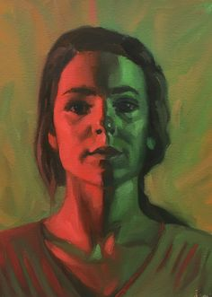complementary portrait by STEWNAMI | complementary art | Pinterest ...
