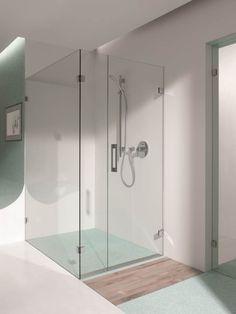 Sklenená sprcha so špičkovými kovaniami FLAMEA a 5 ročnou zárukou. Aplikácia pre výklenkové, rohové, 5 uholníkové, U sprchy alebo vane.