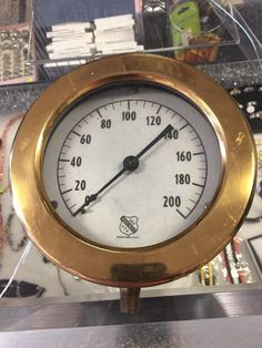 Ashton steam locomotive gauge off norfolk western railroad steam ashcroft 1850 gauge pressure water steam industrial usa steampunk parts old altavistaventures Gallery