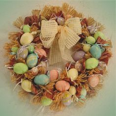 another great Easter wreath!