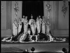 The coronation of King George VI, May 12, 1937.