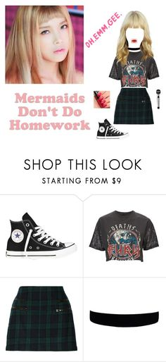 """""""Mermainds - Cake Fancam"""" by official-toxicgrils ❤ liked on Polyvore featuring Converse, And Finally, W118 by Walter Baker and Guerlain"""