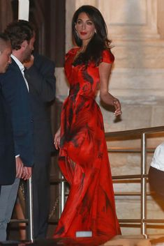 Amal Alamuddin's Wedding Dress - George Clooney's Wedding Weekend - Redbook