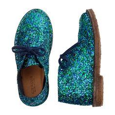 Girls' glitter MacAlister boots