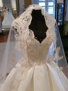 Solstiss Lace Bridal Veil from the studio of Chris Hudson Couture 2013 Wedding Veil, Dream Wedding Dresses, Fox, Behance, Style Inspiration, Couture, Bridal, Studio, Unique
