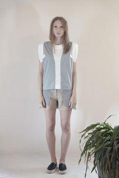 LAPIS shirt #PANTHEIST #FLUMENcollection #womenswear