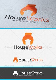 House Works Logo Template #GraphicRiver Description A wrench/house logo template suitable for any kind of manual repairs ou home caring and maintenance business activity. Content – *.AI, *.EPS & *.PDF files included – Black & White logos included – Horizontal & Vertical logos included Fonts Raleway Created: 15March13 GraphicsFilesIncluded: VectorEPS #AIIllustrator Layered: No MinimumAdobeCSVersion: CS2 Resolution: Resizable Tags: activity #apartments #builder #building #business #caring…