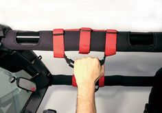 Jeep Accessory - Rugged Ridge Jeep Wrangler Grab Handles - YJ / TJ / LJ / JK