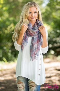 Our bestselling Side Button Tunics are simply an essential for all of your fall adventures!