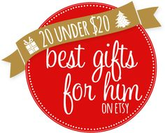 15 Gifts for Him on Etsy for Under $20 - Yellow Bliss Road