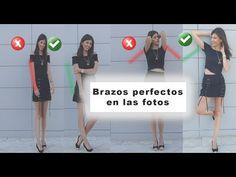 Poses para foto | Cómo posar los brazos en las fotos - YouTube