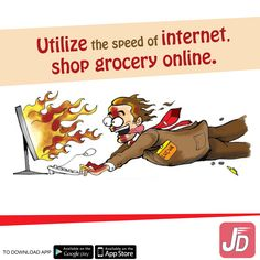 Utilize speed of the internet effectively, shop for your daily consumable items conveniently sitting at home from JustDelivr.