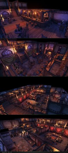 Good news everyone, our Medieval Inn and Tavern modular pack is now live on the Unreal Marketplace ! Here are some shots. Collaboration work with Guillaume Provost : ennelia.com/