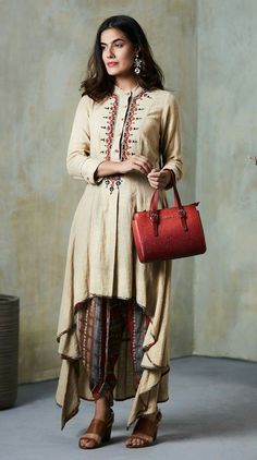 Pakistani Outfits, Salwar Suits, Designer Dresses, Fashion Dresses, Gowns, Beige, Indian, Woman Clothing, Clothes For Women