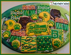 #Baylor cookies for the last game at Floyd Casey Stadium // #CaseClosed