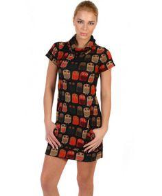 Fabulous Owl Print Dress