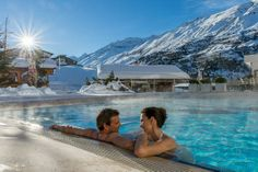 #Hotel #Luxushotel #Ötztal #Obergurgl #Wellness #Wellnesshotel #Tirol Wellness Resort, Sauna, Tub, Skiing, Places, Outdoor Decor, Aktiv, Simple, Ski
