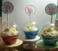 cupcake-box-clear-with-topper | OCCASIONS