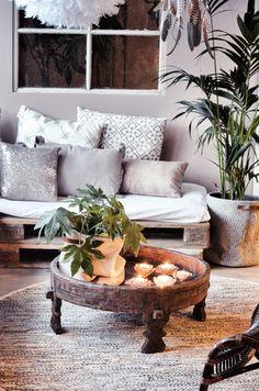 Pallet Furniture, Furniture Design, Tree Shop, Ibiza Fashion, Reclaimed Timber, Handmade Furniture, Wood Turning, Wood Pallets, Summer Collection