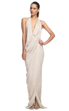 Draped gown: must make!