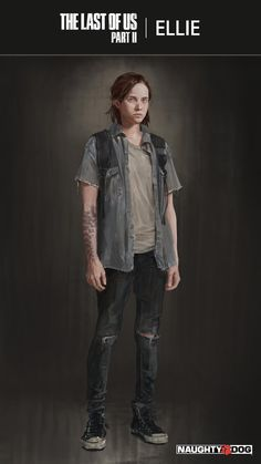 High-Res concept art of Ellie - The Last of Us Part 2 - gaming fun - Game's Game Character, Character Concept, Character Design, Game Concept, Cyberpunk 2077, Keanu Reeves, The Last Of Us2, Joel And Ellie, Edge Of The Universe