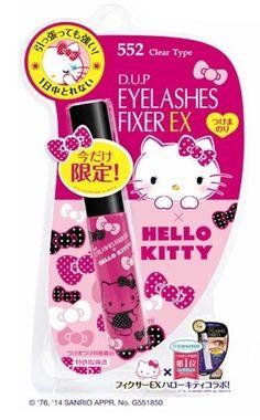 DUP Eyelash Fixer Ex Clear 552 Hello Kitty