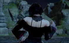 Vanessa from Vampires Vs. Dragons. Made using Creation mode in Soulcalibur 6. benjaminfrog.com #soulcalibur #custom #vanessa #vampiresvsdragons #vampire Soul Calibur, Dragon, Dragons