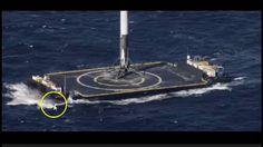 Space X Rocket Camera Landing Footage Fakery