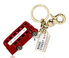 Mulberry's London Bus Key Ring, $210  These Olympics have me going for the gold! While there's no event for sitting on my couch and blogging, that doesn't mean I can't accessorize for the occasion. This Mulberry keyring is one of three London-themed designs (the others are a London phone booth and a mailbox with a love letter decal). So what if I can't go to London and bling myself out like Michael Phelps; with this winning keychain, a girl can dream!