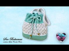 "Concours! ""Sac Bahamas"" Mochila Crochet ""Lidia Crochet Tricot"" - YouTube You Toup, Lidia Crochet Tricot, Mochila Crochet, Love Crochet, Crochet Bags, Beautiful Bags, Bucket Bag, Pouch, Youtube"