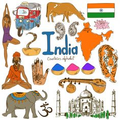 'I' is for India with this next alphabetical countries free download from KidsPressMagazine! #Geography #India #AsianCountries