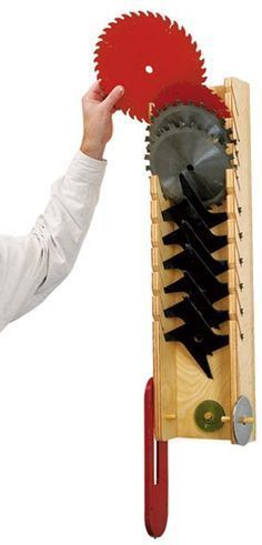 protect-and-serve blade rack, Saw Blade Rack Plans woodworkingforpro...