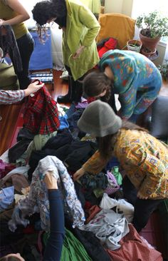 Clean Out Your Closet with a Clothing Swap! Swap Party, Clothing Swap, Cleaning Closet, Party Planning, Weird, Parties, Concept, Bath, Boutique