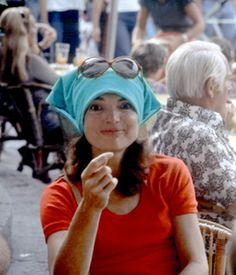 Jackie Kennedy {Don't you just love the look on her face! }