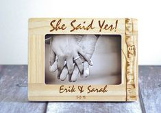 Hey, I found this really awesome Etsy listing at https://www.etsy.com/listing/218483952/she-said-yes-gift-for-couple-engagement