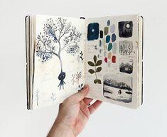Journals art journal art sketchbook, watercolor art и art drawings sketches Art Tumblr, Art Simple, Arte Sketchbook, Design Floral, Vintage Design, Watercolor Art, Art Drawings, Landscape Drawings, Illustration
