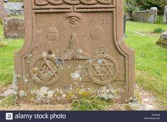 masonic-symbols-on-the-base-of-a-celtic-cross-gravestone-st-briget-E1BYX8.jpg 1,300×953 pixels