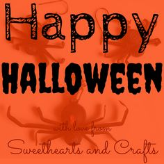 Happy Halloween with love from Sweethearts and Crafts paper #quilled #jewelry and whimsical decorations! SweetheartsandCrafts.com