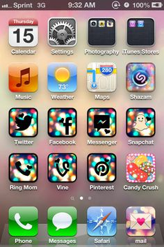 CocoPPa - app icon designer (for non-original iPhone apps, i.e. cannot be used on phone app but can be used for snapchat). Makes cute shortcuts for your apps, must keep original app for shortcuts to work. Also downloadable wallpaper straight to your camera roll