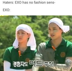 Sehun looks like some Egyptian queen and kai is just::::)))))))