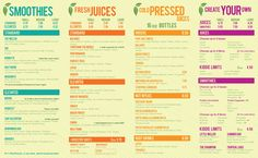 Juice smoothie bar menu juice smoothie bar pinterest skinny limits austin tx juice cleanse bar menu recipe dupe and inspiration malvernweather Choice Image