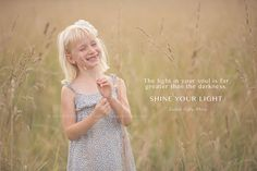 Shine Your Light | Be True Image Design | Raleigh Baby & Child Photographer