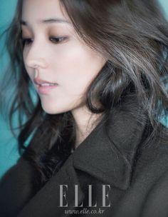 Eugene // Elle Korea // October 2011 (Love the messy hair and makeup)
