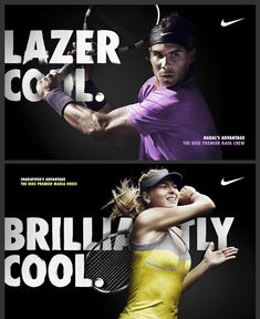 Nike Tennis campaign by Christopher Eckel.