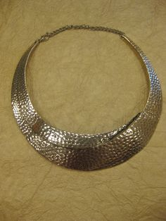 Hammered Silver Necklace  $26